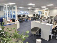 Private Desk Space with FREE PARKING, Glasgow, G5. Free meeting room & boardroom use included