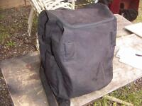 T-Bag for Touring, sz 16 x 12 x 12 with straps, black $45.00