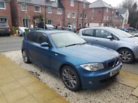 BMW 1 SERIES 118i SPORT BLUE LOW MILEAGE GOOD CONDITION SERVICE HISTORY
