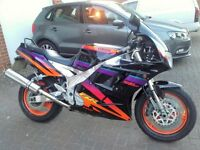 1996 Yamaha FZR 1000 EXUP (foxeye) vgc, open sensible offers or may swap, please see ad