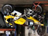 Yamaha R1 4XV 1998 R reg
