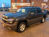 2004 Chevrolet Avalanche 3 YEARS WARRANTY - 4X4 - NO ACCIDENT