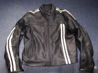 BKS Motorcycle Leather Jacket