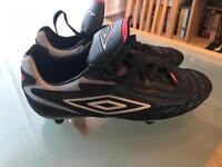 Umbro football boots size 5