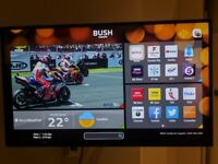 Bush 43 Inch Full HD Smart TV, WIFI- Used.Excellent condition. Purchased 8 months