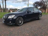 2010 MERCEDES C-220 SPORT BLUE EFF FINANCE & WARRANTY bmw,a4,a6,merc,a5,audi