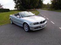 2002 52 BMW 318 CI 2.0 CONVERTIBLE MET SILVER
