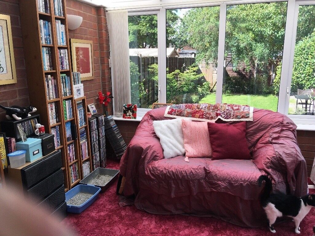 Double bedroom to rent in lovely mid terrace Bramhall area