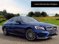 Mercedes-Benz C Class C 220 D AMG LINE (blue) 2017-09-01