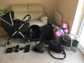 Silver cross pushchair bundle