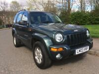 JEEP CHEROKEE , 3.7 V6 AUTOMATIC , LOW MILES , MOTD 1 SEPTEMBER 2019 ,