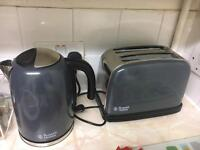 Russell Hobbs Toaster and Kettle
