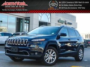 2016 Jeep Cherokee Limited 4x4|Pano_Sunroof|Nav|R.Start|Leather|
