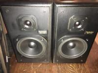 Technics 2 way speakers