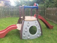 Little Tikes double decker super slide climbing frame