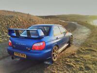 Subaru impreza wrx sti widetrack