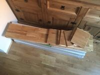 Engineered European Oak Flooring 3 Layers + 5mm gold underlay £90