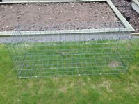 Gabion Baskets 3mm galvanised wire - new and un-used.