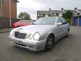 2001 Mercedes E280 Avantgarde. 56k miles, 2 keys, Good History, Top Spec. Swap?