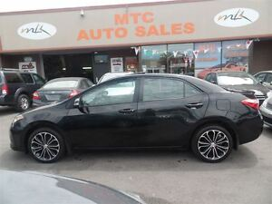 2014 Toyota Corolla S, LEATHER, NAV, BACKUP CAM, LOW KM