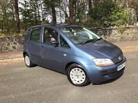 2004 Fiat Idea 1.4 Active ** Only 64,000 Miles ** Clean Car **