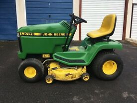 Johndeere lx178 ride on mower