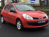 RENAULT CLIO 1.2 PETROL 2006 (06 REG)**£999**LONG MOT*LOW MILES*RED*MANUAL*PX WELCOME*DELIVERY
