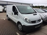 Renault Trafic 2.0 Diesel Manual White **Load of Work Done (over £850.00 spent) Receipts to Prove**