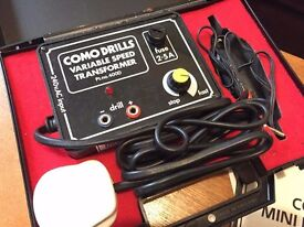 Como Drills Variable Speed Mini Rotary Drill 399D like a Dremel