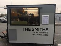 Mobile catering trailer/butty van