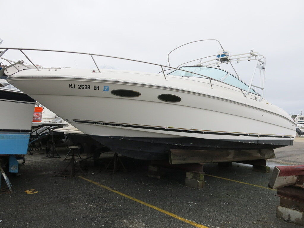 1998 Sea Ray 280 Cuddy Cabin cruiser boat Project Clean Title Low reserve 98