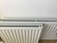 Double panel single convector radiator