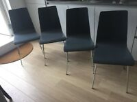 4 X Dining chairs John Lewis