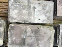 Grey/Blue slate roof tiles - used