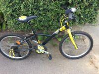 Decathlon child's bike with 5 speeds.