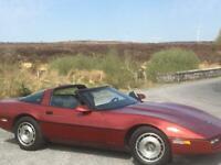 1986 c4 corvette targa