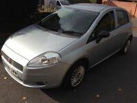 2008 08reg Fiat Grande Punto 1.2 Active Silver 5 door Service History Air-Con CD MOT HPi Clear £999