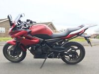 Yamaha XJ6 XJ 6S Diversion 2009/09 FSH Excellent condition Extras included 25,695miles