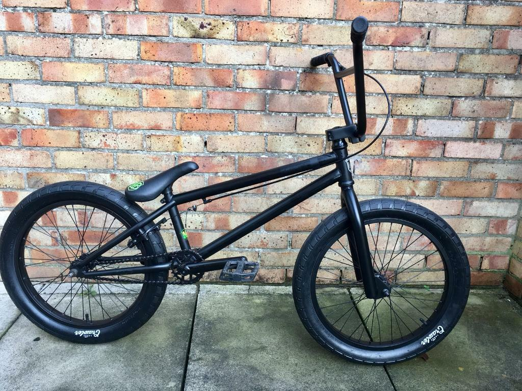 MAFIABIKES Harry Main Madmain All Black Bmx Excellent Condition