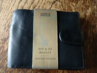 Leather Men's wallet. Marks and spencers. Genuine leather