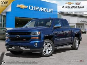 2018 Chevrolet Silverado 1500 2LT 4WD / TRUE NORTH EDITION /...