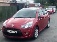 2010 Citroen C3, New MOT,2 Keys ,one previous owner, alloy wheels,only 75k!