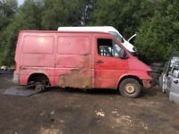 Wanted Mercedes sprinters for breaking