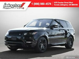 2016 Land Rover Range Rover Sport HST **RED LEATHER!!**|NAV|PANO