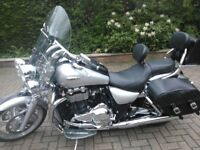 Immaculate bike fully loaded with extras immobilizer 2 keys garaged over winter hence low mileage