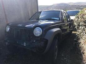 Jeep Cherokee 2.8crd / Breaking