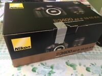 Brand New: Nikon D3400 DSLR Camera with 18-55mm Lens