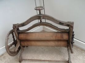 VERY OLD MANGLE MAYBE PRE WAR