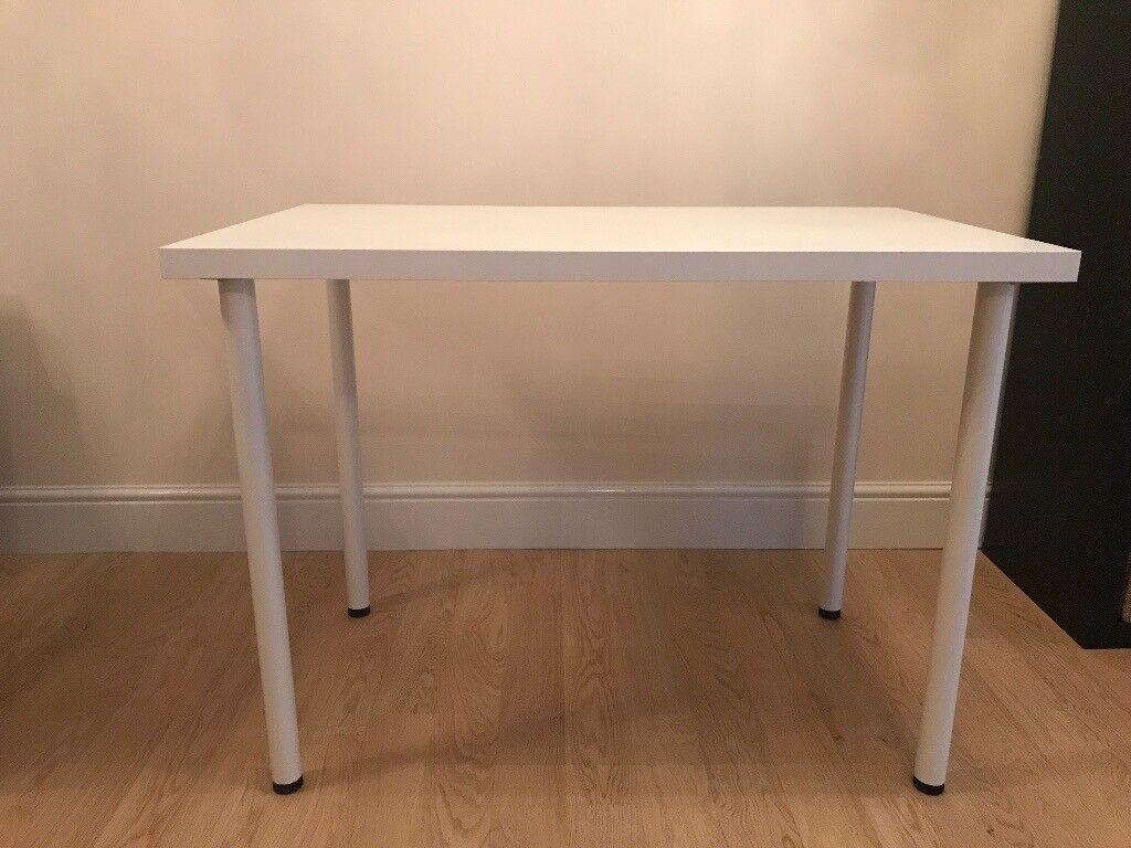 Ikea desk linnmon adils colour: white great condition in