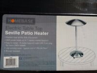Electric table top patio heater